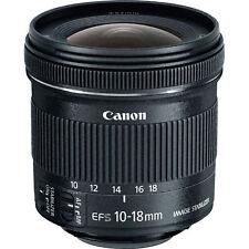 Summer Splash Sale NEW Canon EF-S 9519B002 10-18mm F/4.5-5.6 STM IS EF-S Lens