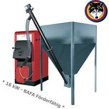Pelletkessel  ORLIGNO Pellet 100 (16 kW) BAFA Förderfähig Notbetrieb Holz