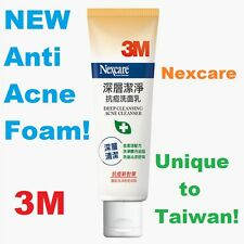 NEW 100g 3M Nexcare Face Wash Deep Cleansing Acne Cleanser Foam Pimple Treatment