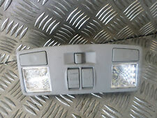 2007 MAZDA 6 2.0D TS2 FRONT INTERIOR ROOF READING LIGHT UNIT SUNROOF SWITCH