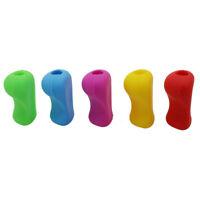 5er Set Schreibhilfe Stiftehalter ergonomisch Rechts u. Linkshänder Griffhilfe