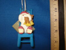 Snowman Ornament Baby in Time Out Chair 54430 110 537 18