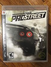 Need for Speed: ProStreet (Sony PlayStation 3, 2007) Complete