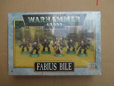 D11C48 FABIUS BILE + ESCORTE WARHAMMER 40000 W40K (1997) SEALED