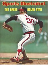1975 6/16 Sports Illustrated,Baseball magazine,Nolan Ryan,California Angels PLos