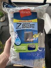 Hanes Boys 7-Pack Tag-less Boxer Briefs