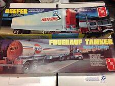 BIG HTF 1/25 AMT LOT Tanker Semi-Triler Semi-Truck builder