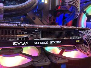 Nvidia Geforce EVGA GTX 980 SC Superclocked PC Graphics Card