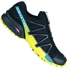 Salomon Speedcross 4 Scarpe da Trail Running Uomo Nero/giallo (t8l)