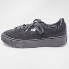 Puma Basket Platform Sneakers Black Shimmer 7
