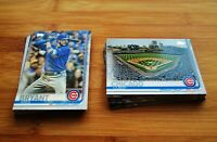 2019 Topps CHICAGO CUBS Team Set w/ Update (36) Cards