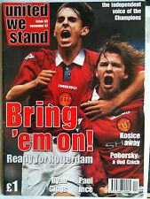 United We Stand  No 65  Manchester United Fanzine   November 1997