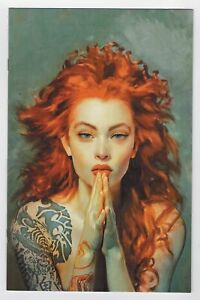 THE MARKED #9 COVER C HABERLIN VIRGIN VARAINT COVER HOT IMAGE COMICS 2020