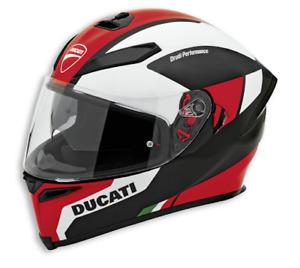 Ducati AGV Peak V5 Helmet Sun Visor Integral Helmet Tricolor New