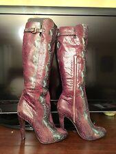 Donald Pliner Snake Skin Boots, Size 9