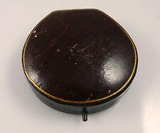Antique Oval Hinged Pendant Box / Jewellery Box