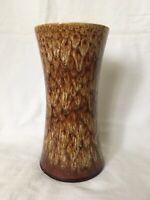 """Vintage New Devon Studio Pottery 8"""" Inch Vase"""