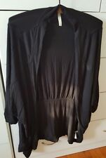 SEAFOLLY Black Cardigan Size S Bamboo