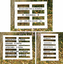 WEDDING & PARTY SIGNAGE STENCIL KITS - 3 Packs to Choose From - Rustic / Vintage