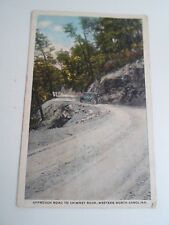 Old Postcard Approach Rd to Chimney Rock Western North Carolina c.1920s   §A1073