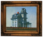 Hopper The House Wood Framed Canvas Print Repro 11x14