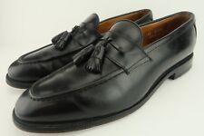 Allen Edmonds Wingham Black Leather Tassel Loafer Oxford Dress Shoes Men's 11 C