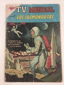 1963 SPANISH MEXICAN COMICS TV MUNDIAL #7 LOS COSMONAUTAS NOVARO SEA MEXICO
