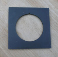 """4x4"""" metal  lens board panel for compur 3 with 66.7mm  hole"""