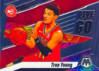 Trae Young 2019-20 NBA PANINI MOSAIC GIVE AND GO Insert Card #4 Atlanta Hawks