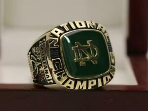 HOF PLAYER RING 1977 Notre Dame Fighting Irish NCAA National Championship ring