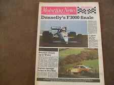 Motoring News 26 October 1988 Audi Sport & Outlon Rally Race Wellington GpA