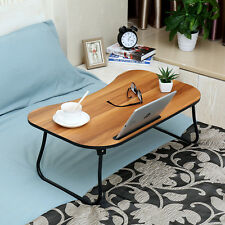 "27"" Laptop Desk Lap Table Stand Sofa Bed Tray Computer Notebook with Tablet Slot"