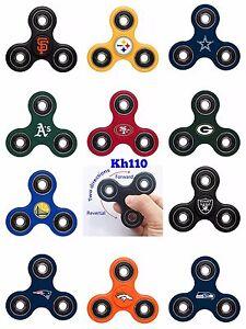 NFL,MLB,,NBA,NHL Team Three Way Fidget Hand Spinner