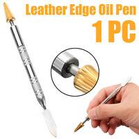 Top Edge Dye Pen Applicator Belt Edge Paint Oil Roller Tools DIY Leather Craft-