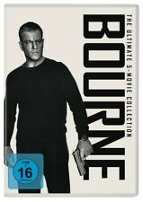 BOURNE-THE ULTIMATE 5-MOVIE-COLLECTION  5 DVD NEU