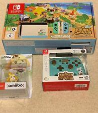 Nintendo Switch Animal Crossing New Horizons Edition Console + Joypad + amiibo!