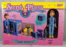 Vintage 1990 Secret Places Family Room in a TV