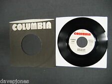 "BOB DYLAN Mozambique 3:00 1975 WL Promo Mono / Stereo 1975 Columbia USA 7"" & PS"
