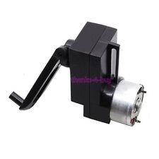 4W Hand Crank DC Power Generator Dynamo Hand held Generator 100-300mA 15V/1000R