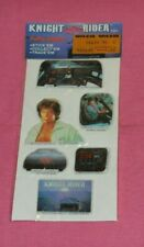 vintage KNIGHT RIDER PUFFY STICKERS (set B) new/sealed