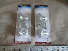 (6) New Westinghouse 120v 50w MR16 Lensed Flood Halogen Bulb GU10 Base 3050K