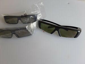 3x 3D Brille Samsung und Panasonic