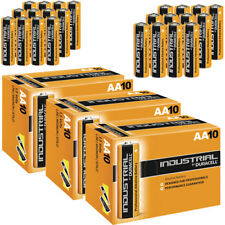 30 DURACELL INDUSTRIAL AA ALKALINE BATTERIES REPLACES PROCELL MN1500 1.5V LR6