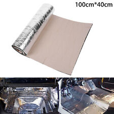 Car Sound Proofing Deadening Heat Shield Insulation Noise Material Mat 100*40cm