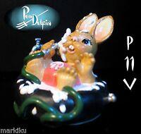 Pendelfin Jose bather on tube figurine rabbit Bunny w/ Box