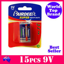 15pcs Super Heavy Duty Smoke Alarm 9V Battery Pairdeer 6R61 New stock