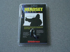 Headset Buddy  -  Eliminate Cord Rubbing Noises of Headset/Earbuds  Cable Holder