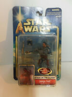 Star Wars Attack of the Clones Jango Fett Kamino Escape MOC SEALED ON CARD