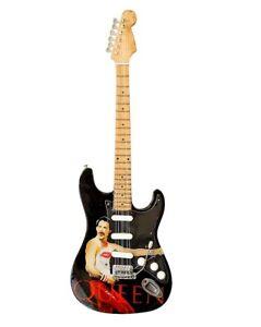 Miniature Guitar Replica 'Queen' Freddie Mercury Tribute