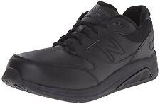New Balance Men's MW928BK3 Black Leather Walking Shoe